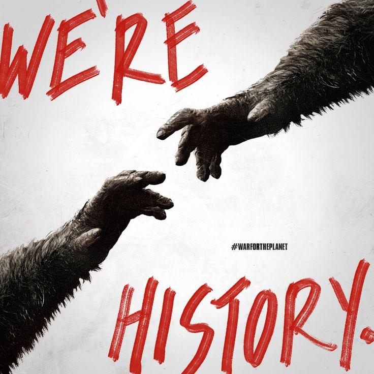Historia on johtanut tähän hetkeen   SOTA APINOIDEN PLANEETASTA nyt elokuvateattereissa 🎬