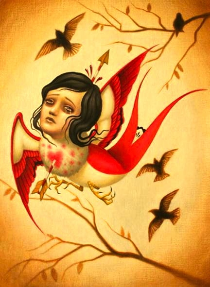 bathroom art?Collection Heart, Aesthetic Reputation, Lady Birds, Bathroom Art, Alex Gracias, Heart Art, Alex Garcia, Inspiration Art, Dolls Painting