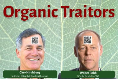 """Organic Traitors Team Up w/Monsanto & GMA on DARK Act 