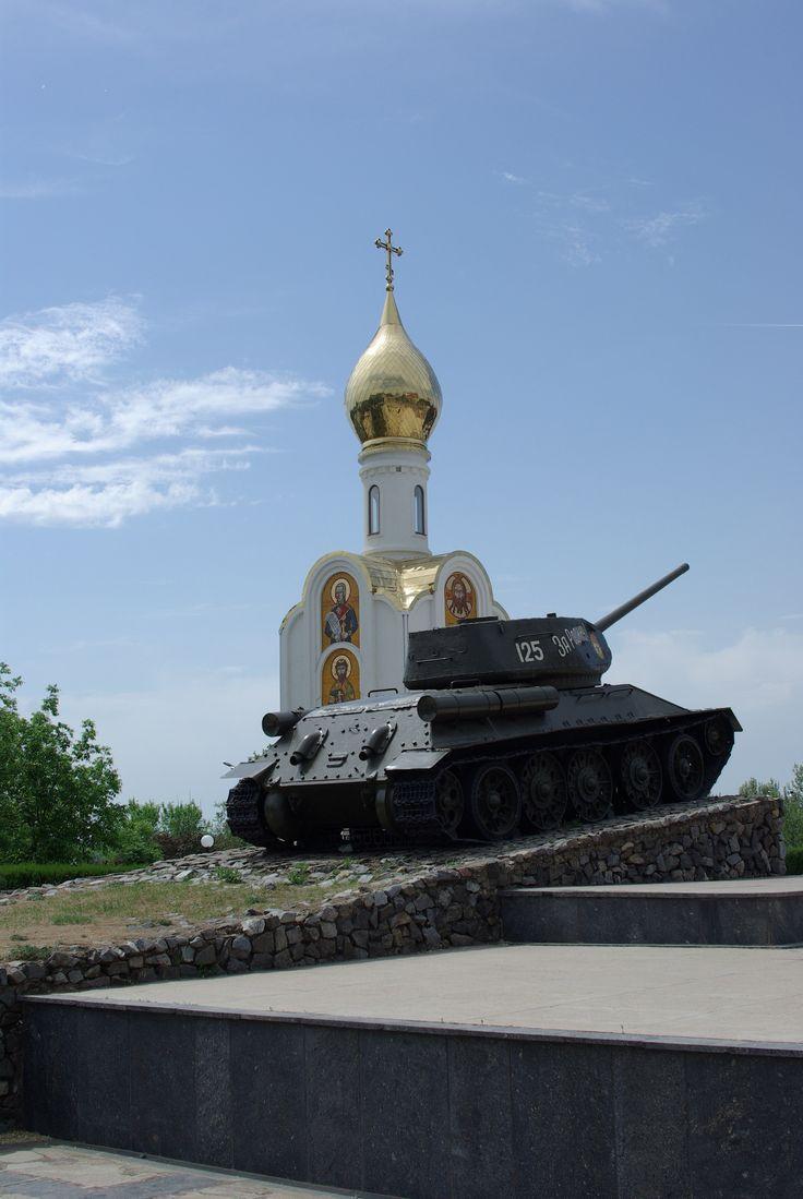 Tiraspol. The 'capital' of Transdniestr. Moldova