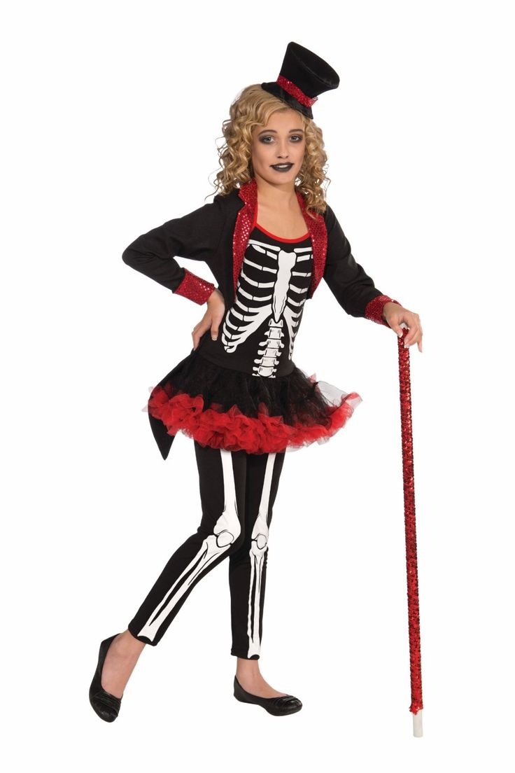 girls skeleton costume - Google Search