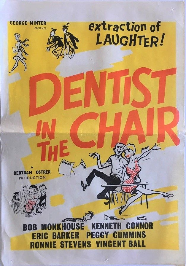Dentist In The Chair (With images) Dentist, Film posters