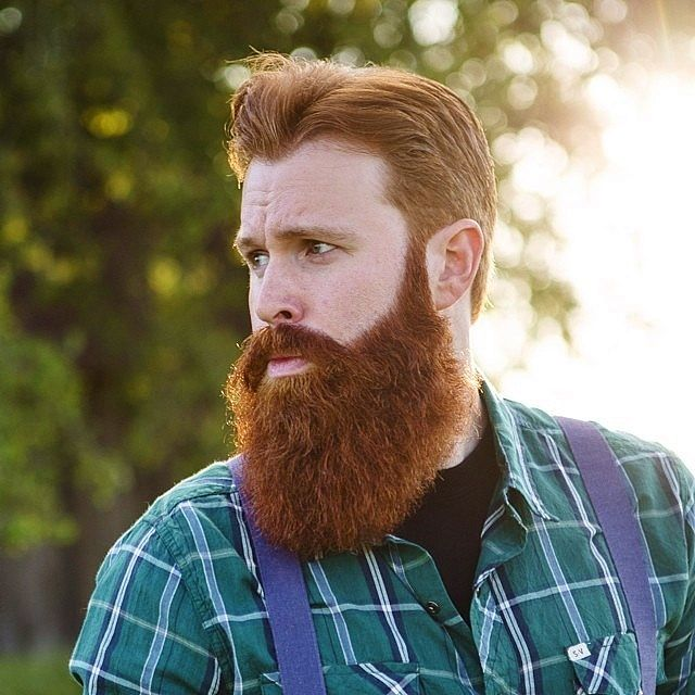 A well groomed, soft beard is super sexy!