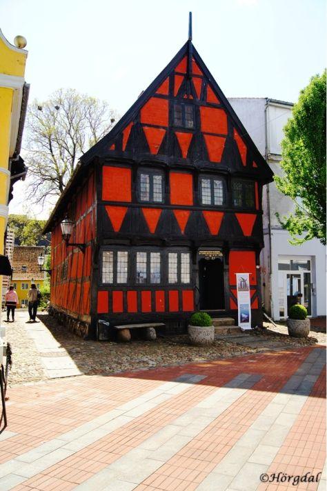 Interesting building in Kolding