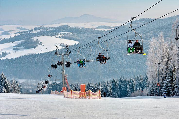 Stacja narciarska Tylicz http://www.hotelklimek.pl/tylicz   Tylicz Ski Station http://www.hotelklimek.pl/tylicz   #sport #winter #snow #wintersports #śnieg #narty #narciarstwo