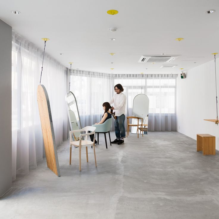 Japanese houses are a perennial favourite with Dezeen readers, but the country's architects also apply similar design principles to hair salons interiors...