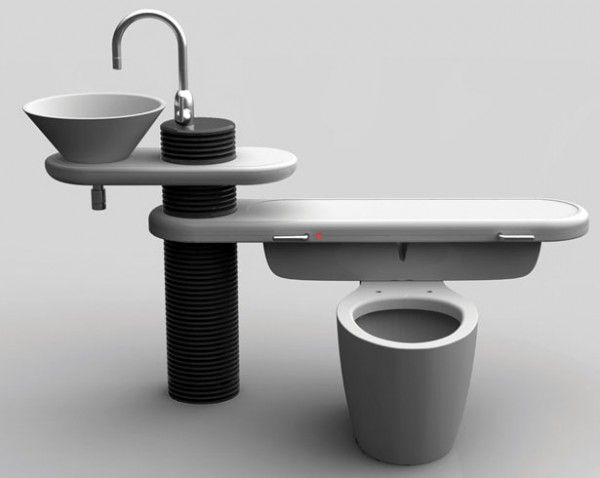 Did you know that your toilet consumes30 percent of all water used in your home?  We want one of these!