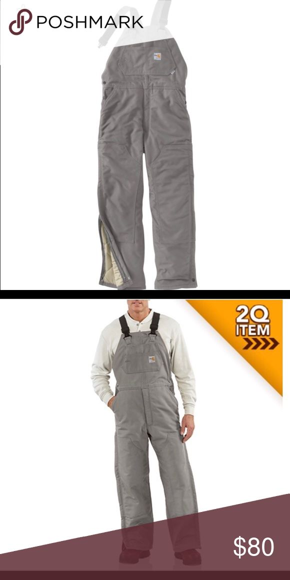 Carhartt men's FR insulated bibs! Size 40X34 Brand new with tags! Carhartt Pants