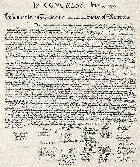 The Final Text of the Declaration of Independence July 4 1776 < 1776-1785 < Documents < American History From Revolution To Reconstruction and beyond