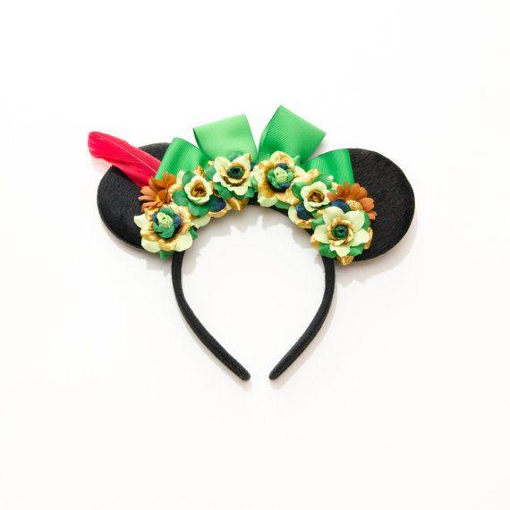 Peter Pan Disney Ears Headband, Mouse Ears, Peter Pan Party, Peter Pan Mickey Ears, Peter Pan Costume, Disney Bound, Disneyland