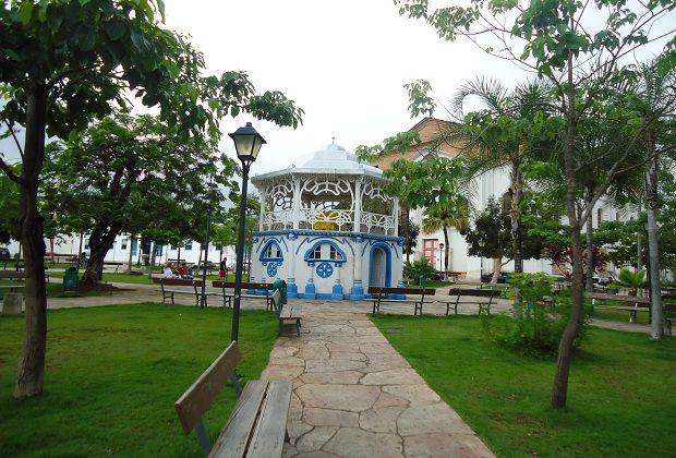 Praça do Coreto, Goiás Velho - Brasil.