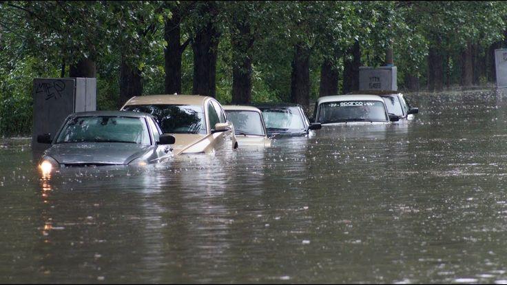 6.07.17 невероятный ЦИКЛОН прошелся по РОССИИ, наводнения, ГРАД, автомоб...