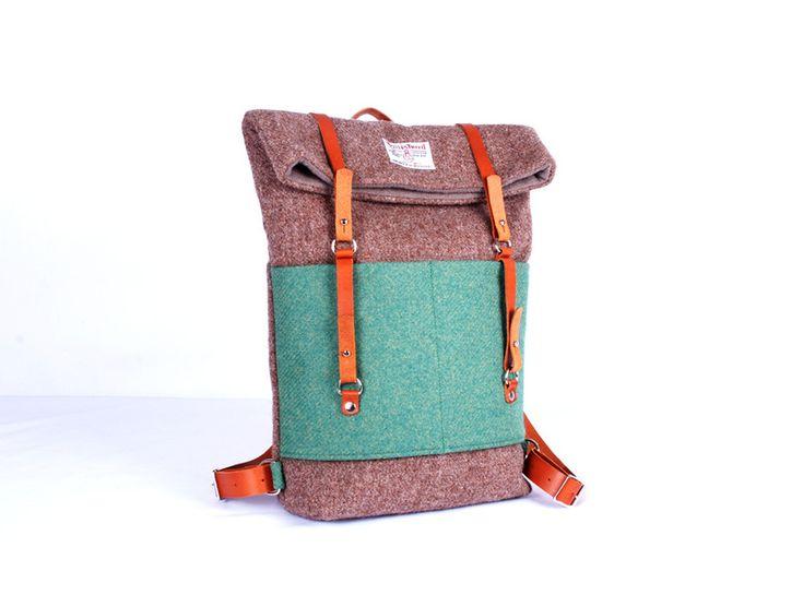 Harris Tweed Backpack von Breagha auf DaWanda.com