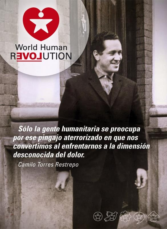 Only humanitarian people care about on that pingajo terrified we become when faced with the unknown dimension of pain. Camilo Torres Restrepo  www.facebook.com/worldhumanrevolution