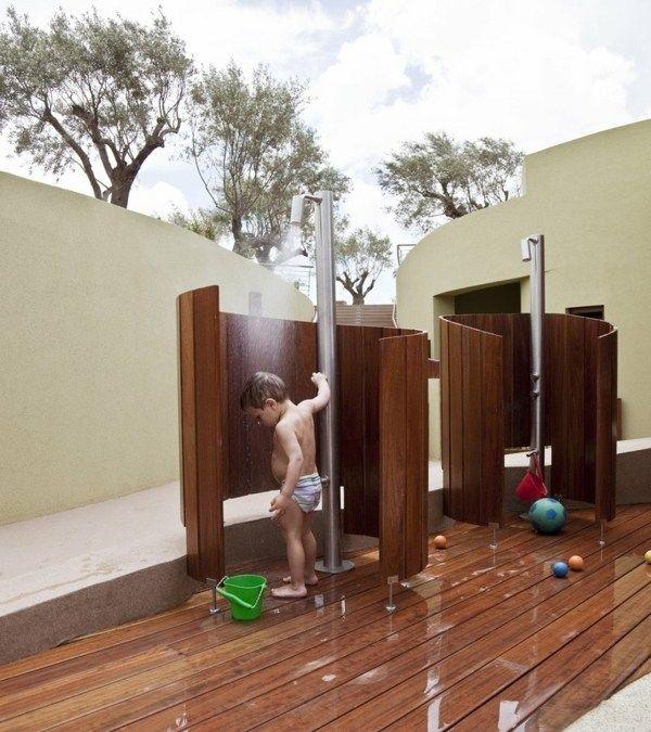 Garten Dusche Außenduschen für Sommerspaß für
