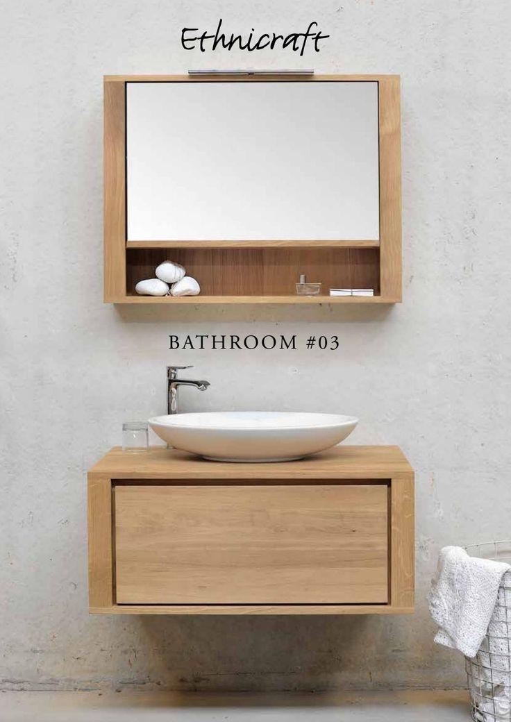 Ethnicraft bathroom catalogue 2016 en  Ethnicraft contemporary oak bathroom…