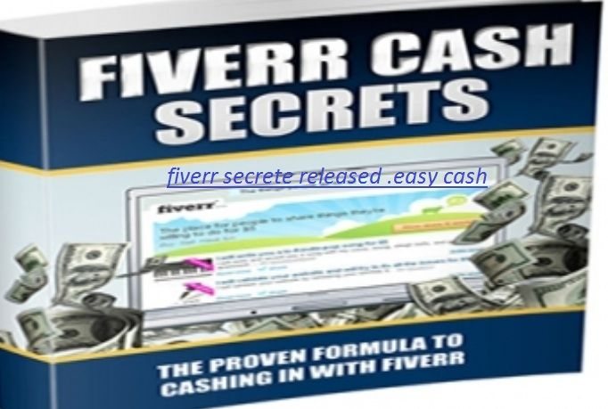 sandra154: give you an eBook and a  how you can make 850 a week on Fiverr without selling for $5, on fiverr.com