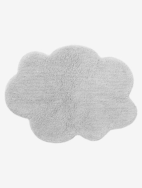 Auf diesem flauschig weichen Babyteppich krabbelt ihr kleiner Liebling wie auf Wolken. Der kleine Wolkenteppich passt mit seiner handlichen Größe in jedes Kinderzimmer! Produktdetails:Teppich: Reine Baumwolle, getuftet. 75 x 55 cm. Maschinenwaschbar bis 40°C.;