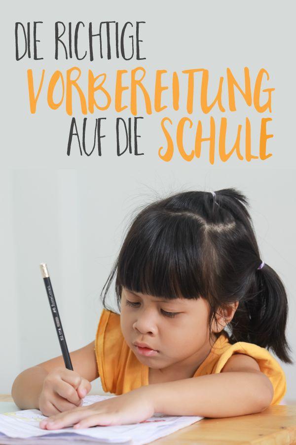 Die Expertin erklärt: So sieht die ideale Vorbereitung auf die Schule aus.