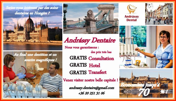 Vous économisez sur vos soins dentaires jusqu'à 70 % par rapport à la France !
