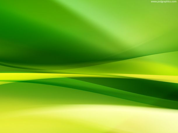 Green Yellow Natural abstract background.