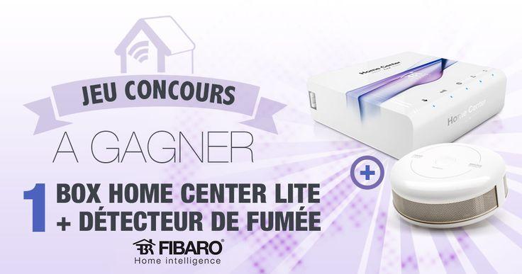 #CONCOURS: Gagnez une box domotique Fibaro HC Lite accompagnée d'un détecteur incendie ! - http://blog.domadoo.fr/59487-concours-gagnez-box-domotique-fibaro-hc-lite-accompagnee-dun-detecteur-incendie/