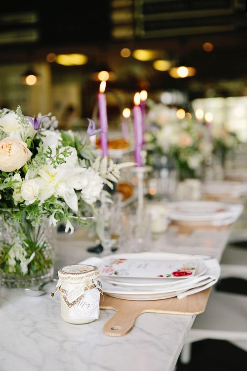 Bridal Shower table styling