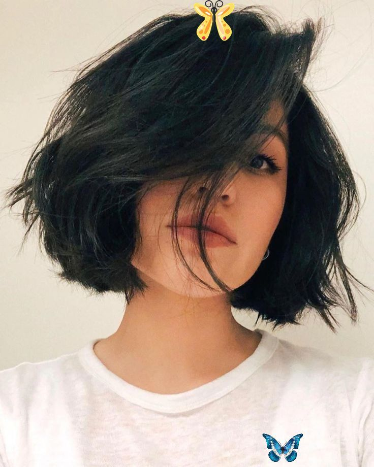 27 Incredible Lob Haircut Ideas For 2019 Style My Hairs Hairstyle Ideas Ponytail Hairstyle Ideas Upload Pho In 2020 Short Hair Styles Thick Hair Styles Hair Styles