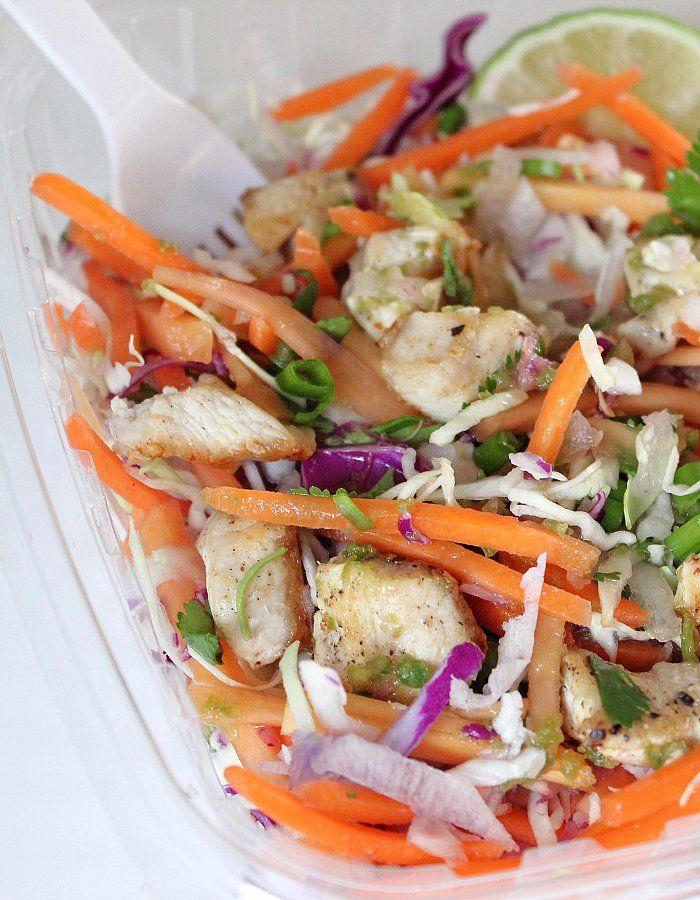 Better Homemade: 220-Calorie Citrus Chicken Salad