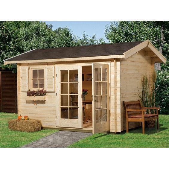 Holz-Gartenhaus Venezia A 340 cm x 250 cm im OBI Online-Shop