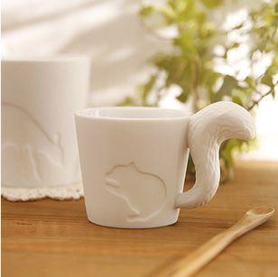 Zakka japanse stijl kleine dier eekhoorn cup keramische kandelaars cup in  product detail   Eekhoorn: 11* 7,5* 7,9 cmKonijn: 11* 9,5* 7,5 cmKitten: 11* 8,5* 9,2 cmOnta: 9,6* 8,5* 9,5 van Kaarsenstandaarden op AliExpress.com | Alibaba Groep