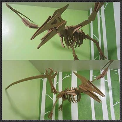 Free Dinosaur Crafts | Cardboard-Dinosaur-Puzzle-Paper-Craft.jpg