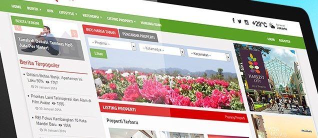 www.peluangproperti.com hadir dengan tampilan baru, dan fitur baru