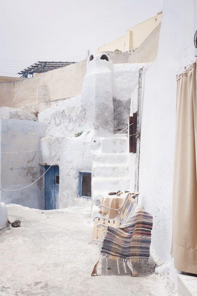 Megalochori, a village in the south of the greek island of Santorini Megalochori, greek architecture, greek villages, greek islands, cyclades islands, santorini, santorini villages, santorini houses