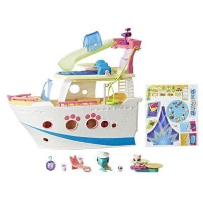 Littlest Pet Shop LPS Cruise Ship