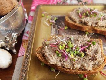 Pasta orzechowo - pieczarkowa wg 5 przemian - Tradycyjna Medycyna Chińska | blog