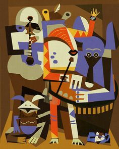 Three Musicians - Picasso