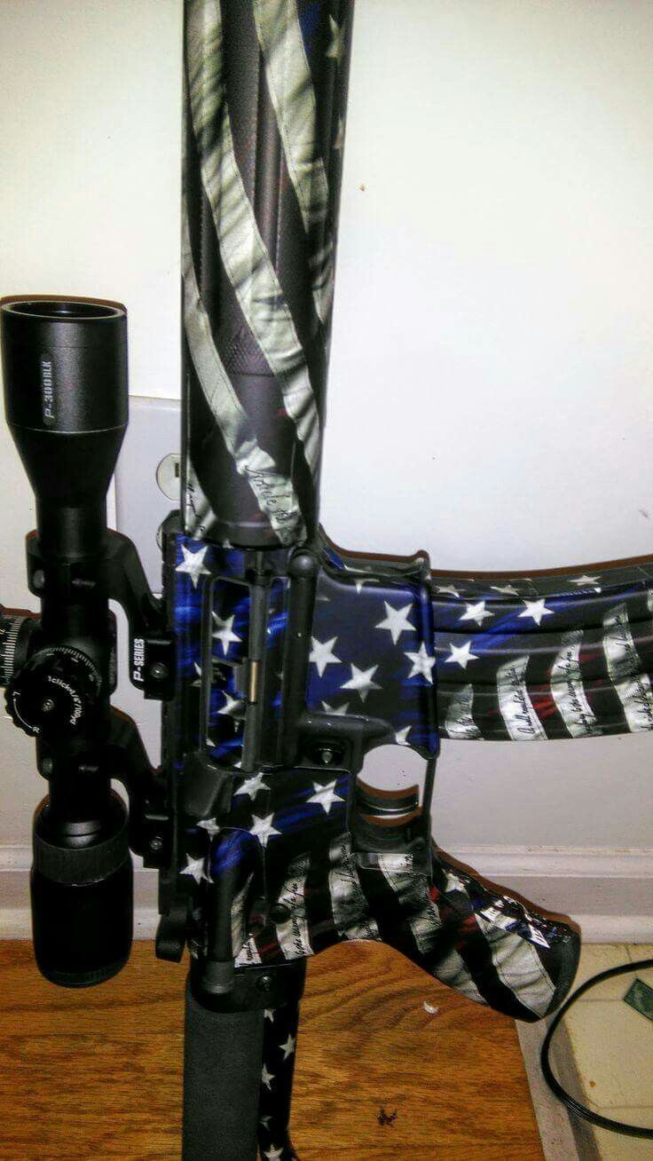 Love this rifle skin!