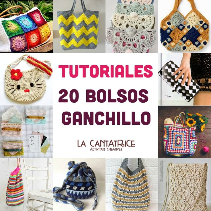 43 best images about bolsos y neceseres de ganchillo on - Hacer bolsos de ganchillo ...