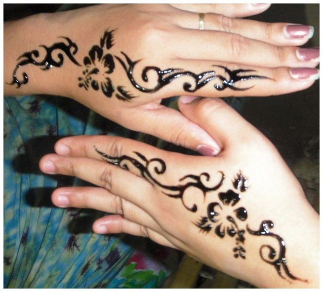 1000+ Ideas About Henna Hand Tattoos On Pinterest