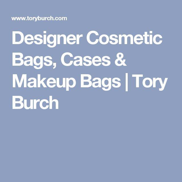 Designer Cosmetic Bags, Cases & Makeup Bags | Tory Burch