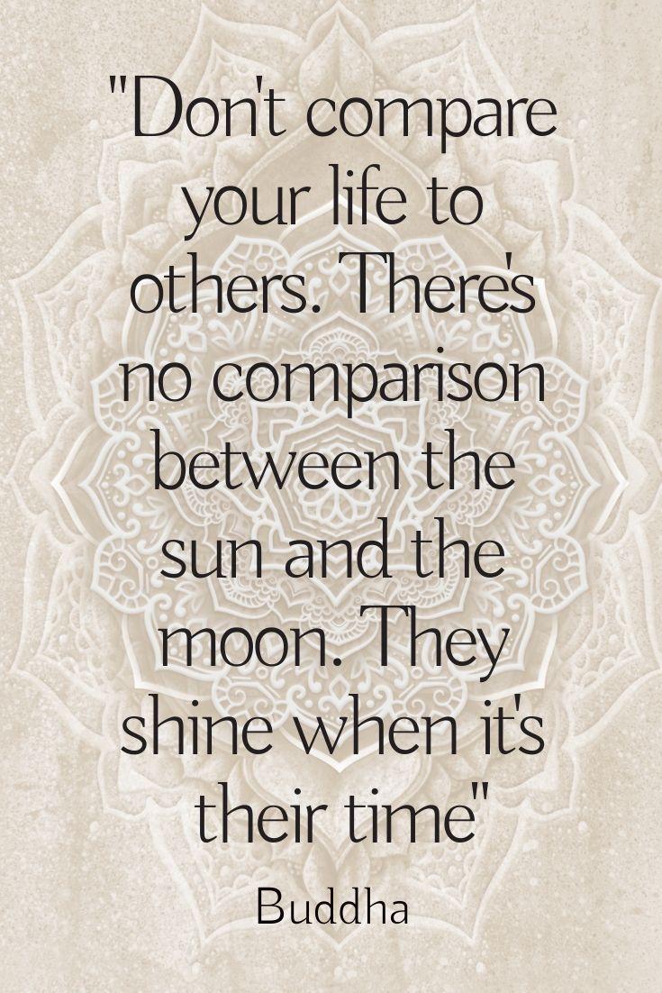 Buddha Quote Inspirational Spiritual Sun Moon Truth Giant Poster Wall Art Print