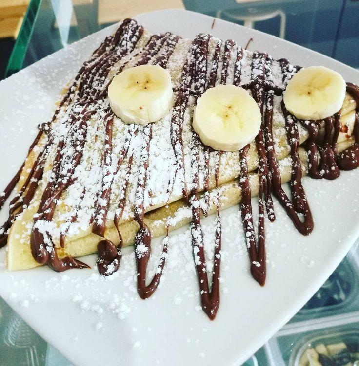 """150 Gostos, 2 Comentários - Mÿ!ced Frozen Yogurt&BubbleTea (@myiced) no Instagram: """"Olhó crepe quentinho? 😻🍴 #crepe #nutella #banana #myiced #portugal #leiria #caldasdarainha #lisboa…"""""""