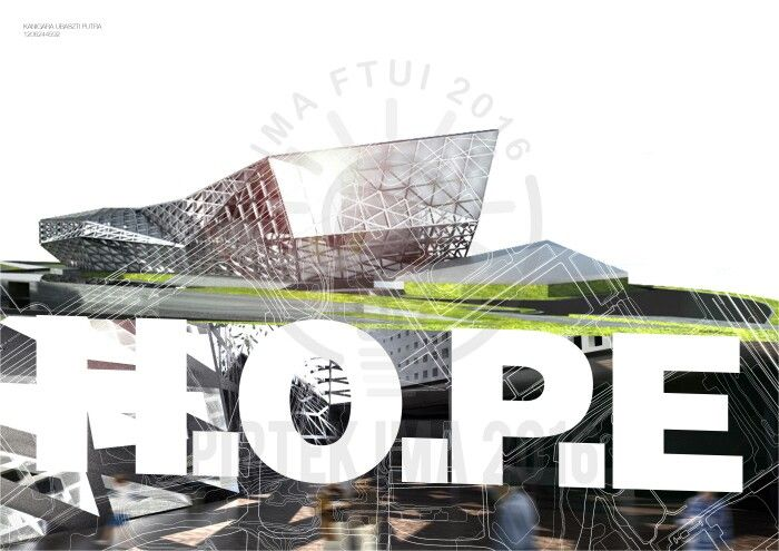 HOPE 1/10 , an architecture project made by Kanigara Ubaszti Putra Arsitektur 2012, Universitas Indonesia