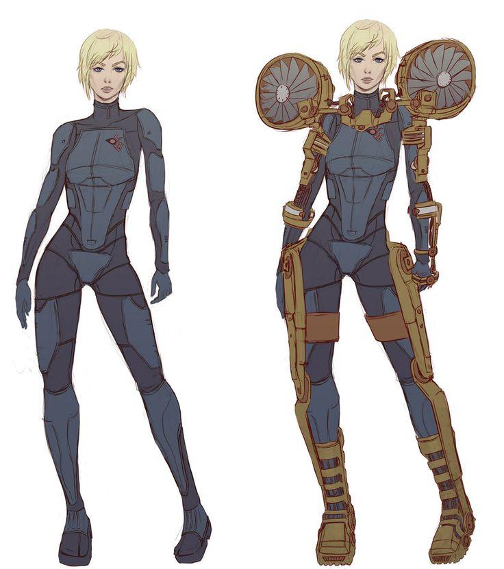 Samus Zero Suit Redesign by Unsomnus on deviantART