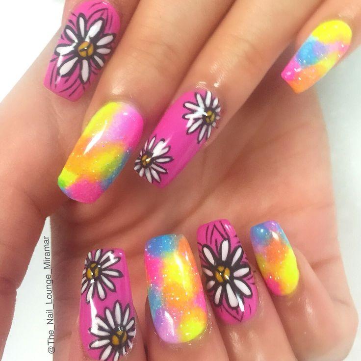 Best 25+ Hippie nail art ideas on Pinterest | Hippie nails ...