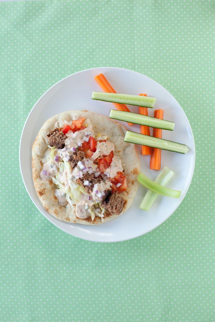 #Epicure Big Burger Falafels: a tasty way to use up leftover burgers or meatloaf!