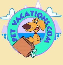 Pet Vacations. This site offers complete and UP TO DATE information about hotels that allow pets to stay with you in them :). Very cool site I will be using it OFTEN.