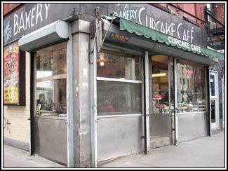The Cupcake Cafe, NYC. childhood bday cake tradition