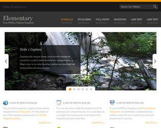 Elementary Website Template Web Site Design Arizona| #WebDesignArizona #webdesign #Website #Templatedesign